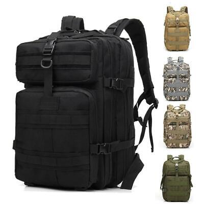 45L Military Tactical Travel Camping Backpack Hiking Waterproof Outdoor Bags New