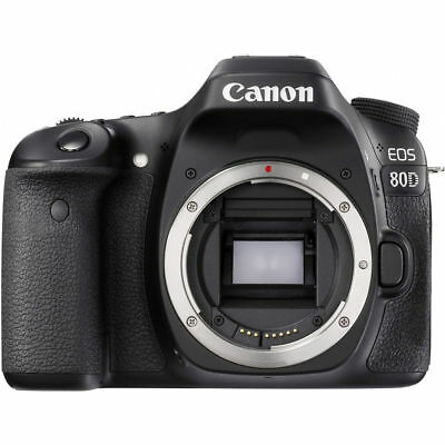 Canon EOS 80D 24.2 MP DSLR Camera Body UU