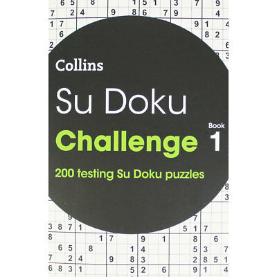 Collins Sudoku Challenge - Book 1 (Paperback), Non Fiction Books, Brand New