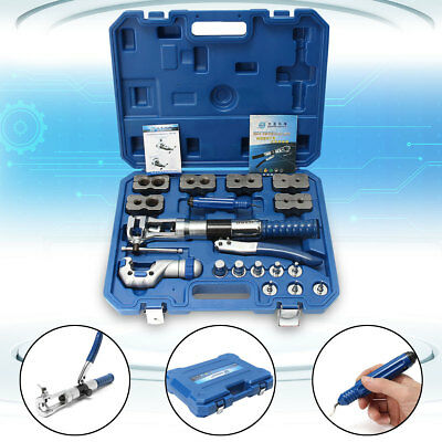 Universal Hydraulic Flaring Tool Set Copper Pipe Fuel Tube Expander Kit FAST CAN
