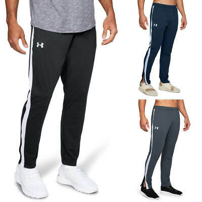 Under Armour Mens 2019 Sportstyle Pique Track Light Breathable Wicking Trousers