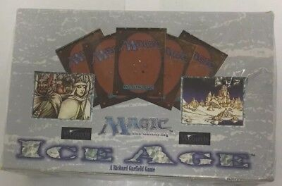 MTG Magic The Gathering Ice Age 1/2 Booster Box English 18 Gem Booster Packs