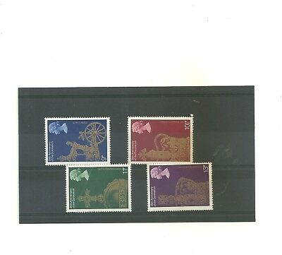 GB 1978    GB 25 th Anniversary      Silver Jubilee  set of 4 mint  stamps