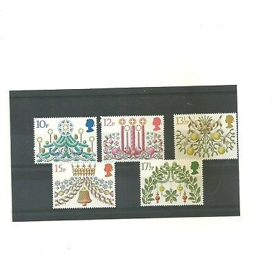 GB 1980    GB Christmas  set of 5 mint  stamps