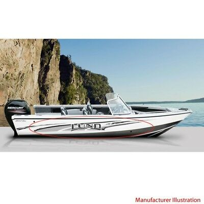 LUND Classic X Inch Vinyl Boat Decals - Baja boat decals easy removallarson boat raised decal lsrorange