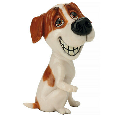 "Little Paws ""Pip"" Jack Russell Terrier Dog Figurine 5"" High Made In UK New!"