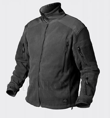 HELIKON TEX LIBERTY Superfine Fleece JACKET OUTDOOR JACKE BLACK SCHWARZ M Medium