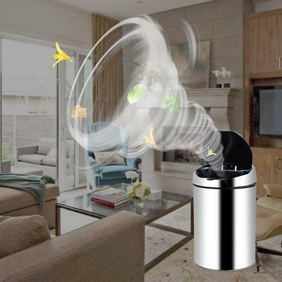 Touch-Free Sensor Automatic Stainless-Steel Touchless USB Trash Can Kitchen Lot