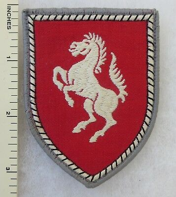 Vintage WEST GERMAN ARMY 7th PANZER DIVISION HQ BRIGADE BUNDESWEHR PATCH