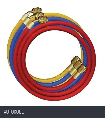 Mastercool R410A Air Conditioning Refrigerant Nylon Charging Hose Set