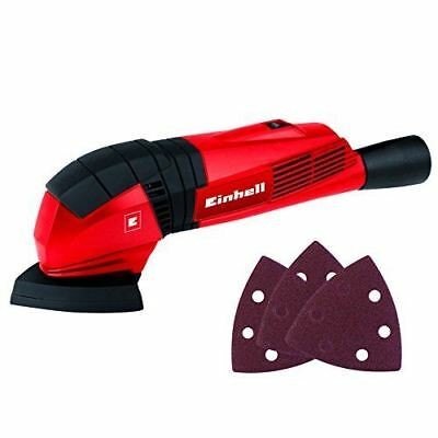 Einhell TC-DS 19 Delta Sander, 190 W, 230 V, Red, One Size