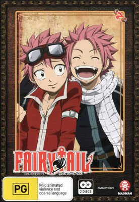 FAIRY TAIL SEASON/COLLECTION 10 BLU RAY DVD COMBO PACK BRAND