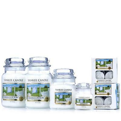 Yankee Candle 28 Piece Set Clean Cotton