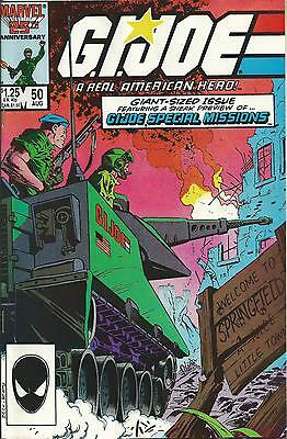 G.i.joe: A Real American Hero #50 (Double Sized Issue) (Marvel) (1986) Nm-