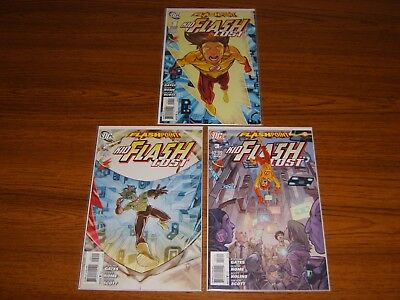 Flashpoint: Kid Flash Lost #1 - 3 Set (Dc) 2011 (3 Issues)
