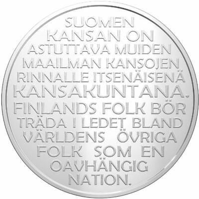 "2017 Finland 20 Euro Silver Proof Coin ""Finland's Independence December 6, 1917"""