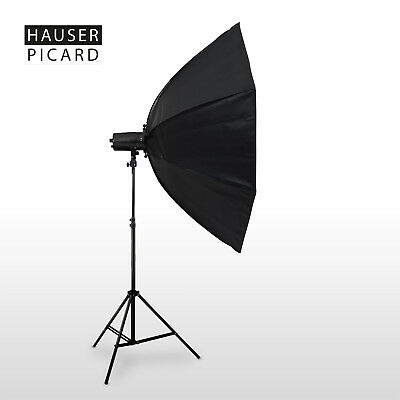 HAUSER & PICARD Octagon Softbox Set 120 cm + Studioblitz