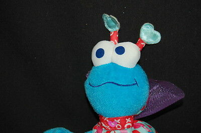 """Cookie  Monster Fisher Price Sesame Street Muppets Bug Blue Red 8"""" NWT 2003"""