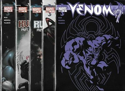 Venom Lot Of 5 - #6 #7 #8 #9 #10 Run Set Of 5 (Nm-) Spider-Man