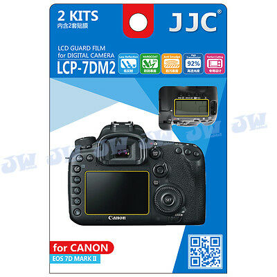 JJC LCD Guard Display Monitor Screen Protector Film For CANON EOS 7D MARK II 7D2