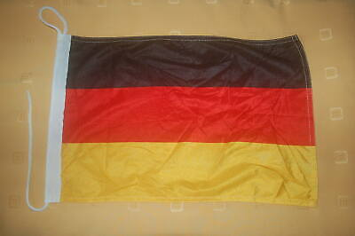 Deutschland Bootsflagge Bootsfahne Boot Flagge Fahne