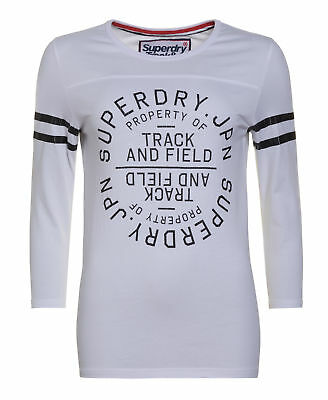 New Womens Superdry Factory Second Training Ground Shirt