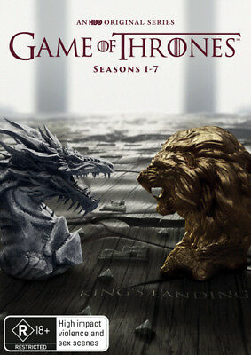 Game Of Thrones Season 1 2 3 4 5 6 7 DVD R4 New!!!