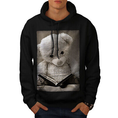 Wellcoda Fairytale Teddy Bear Womens Hoodie Book Casual Hooded Sweatshirt