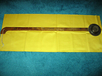 ANTIQUE PLANTER JR NO. 2 EDGER YARD IMPLEMENT Made in USA WOOD HANDLE WORKS!!