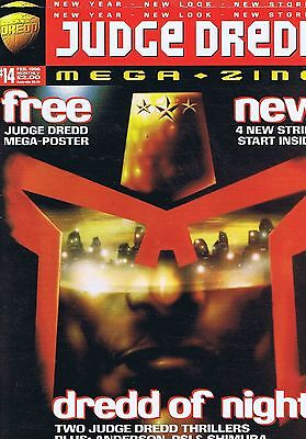 JUDGE DREDD	The Megazine + POSTER	no.	14	Feb	1996