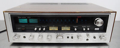 Vintage Hifi - Stereo Receiver Tuner Amplifier Sunsui 7070 AM FM Radio 1977-79