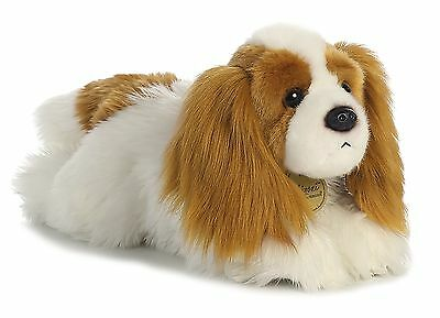 New AURORA MIYONI Stuffed Plush Toy CAVALIER KING CHARLES SPANIEL Puppy Dog 11""