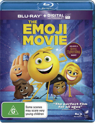 The Emoji Movie Blu-ray Region B New!