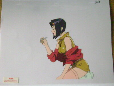 Cowboy Bebop Faye Valentine Anime Production Cel 21