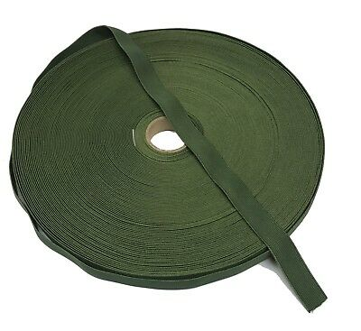 "19mm / 0.75"" Olive Green Military Specification Elastic ( Military Webbing MTP"