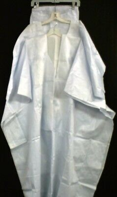 African Men Clothes Brocade Grand Bou Bou Pant suit White Handmade Free size