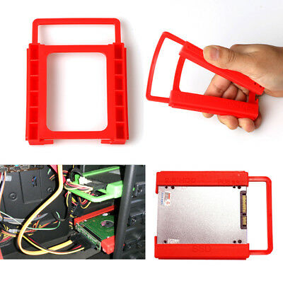 "2.5"" to 3.5"" SSD HDD Tray Bracket Hard Drive Bay Caddy Adapter Mounting New Hot"