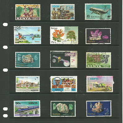 Commonwealth Kenya   Africa   one stock sheet mix collection stamps