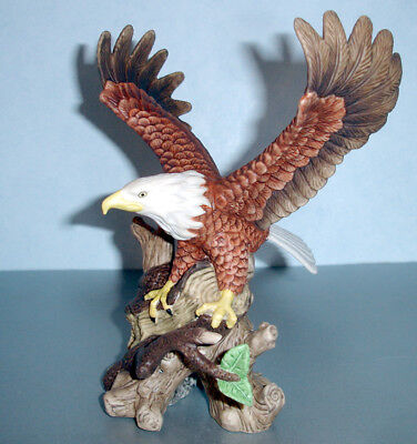 Lenox American Bald Eagle Porcelain Figurine Hand Painted Patriotic 868187 New