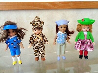 Madame Alexander Doll Lot Of 4 Mcdonalds
