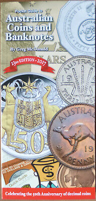 2017 AUSTRALIAN COINS & BANKNOTES POCKET GUIDE 23rd Edition by GREG McDONALD