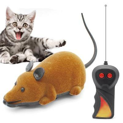 Pet Cat Dog Funny Electric RC Rat Mouse Wireless Remote Control Interactive Toy