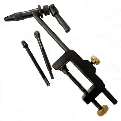 MASTAX FLY TYING VISE - Rotary with 3 Jaws.