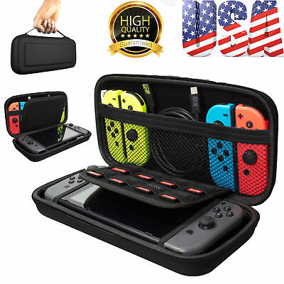 For Switch Travel Carrying Case Bag EVA Storage Bag Hard Cover Protective TY