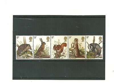 GB 1977 set of 5    mint    stamps in a strip