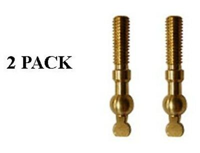 Replacement Draft Beer Faucet Lever  - brass - 2- PACK  # 4312x2