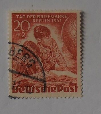Berlin West gestempelt - Tag der Briefmarke