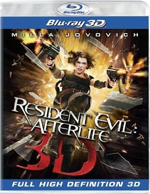 Resident Evil: Afterlife [Blu-ray 3D] NEW!