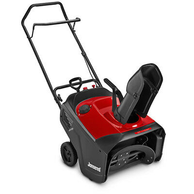 """Jonsered 21"""" 179cc Gas Powered Single Stage Snow Blower Thrower w/Electric Start"""