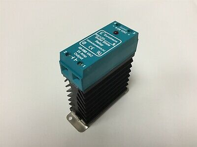 Eurotherm RSDA/25A/660V/LDC Solid State Relay, Control: 4-28VDC, Out: 48-660VAC